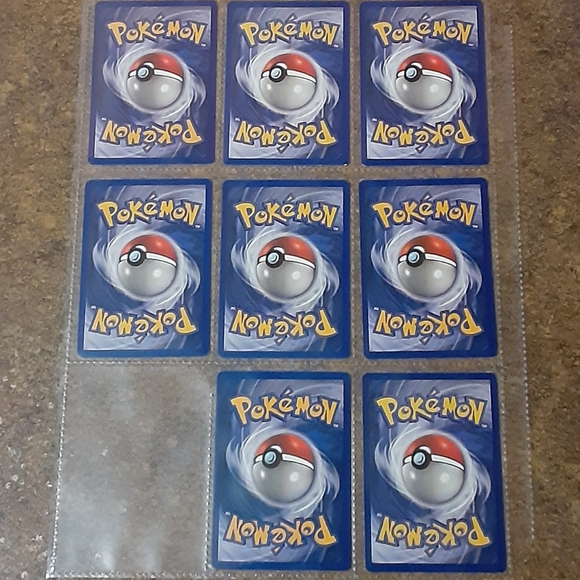 Vintage Pokemon Collector's Cards (Lot of 8) - VGC
